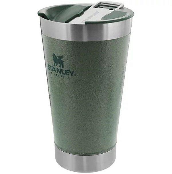 Copo térmico com tampa para cerveja Verde 473 ml STANLEY