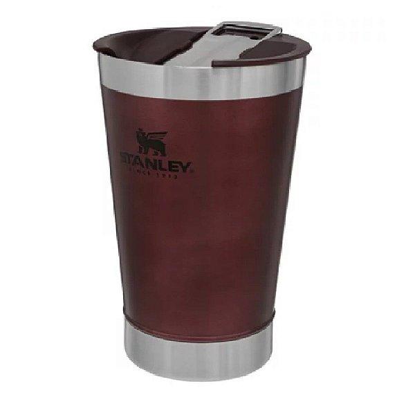 Copo térmico com tampa para cerveja Vinho 473 ml STANLEY