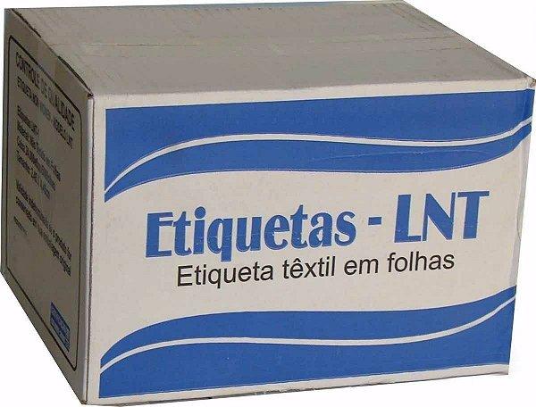 ETIQUETA DE COMPOSIÇÃO LNT1 - 25MM X 40MM - PREÇO POR MILHEIRO