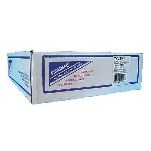 ETIQUETA DE COMPOSIÇÃO TYVEK2 - 25,4MM X 50,8MM - PARA IMPRESSORA MATRICIAL - VALOR POR MILHEIRO