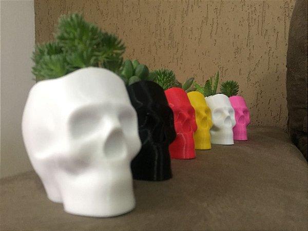 Vaso Caveirinha impressão 3D