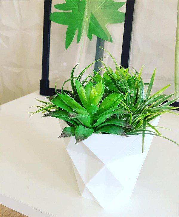Vaso Delta com plantas artificial
