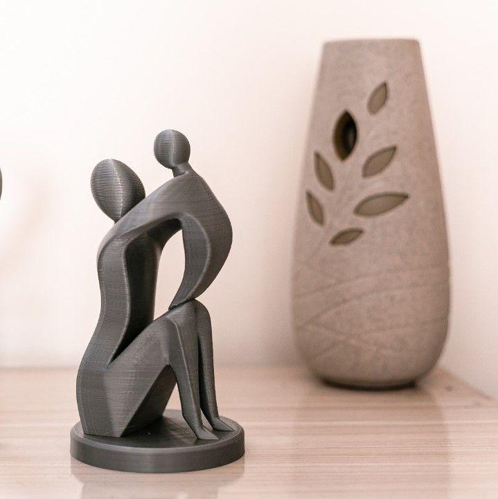 Escultura amor de mãe
