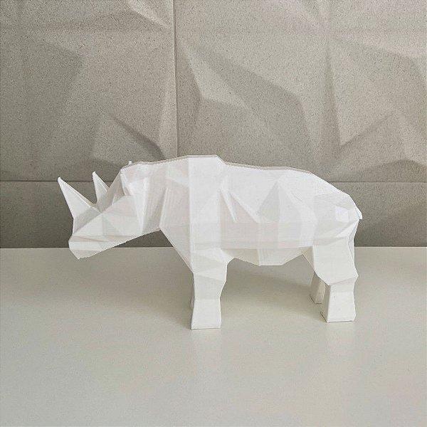 Rinoceronte low poly