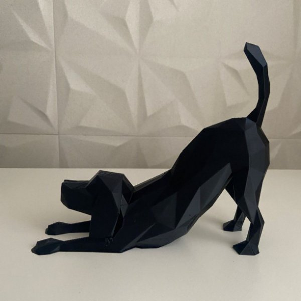 Dog Beagle  low poly