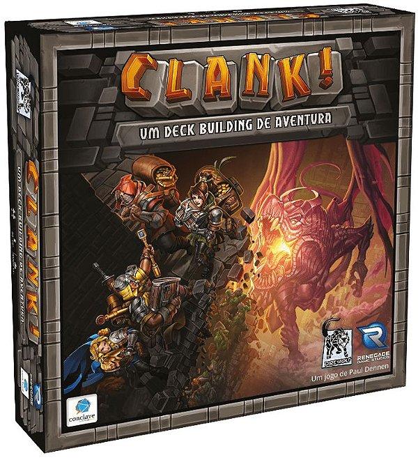 Clank! Um Deck Building de Aventura