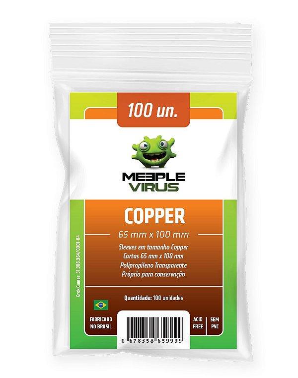 Sleeve Meeple Virus Copper 65 x 100 mm