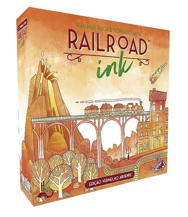 Railroad Ink Edição Vermelho Ardente