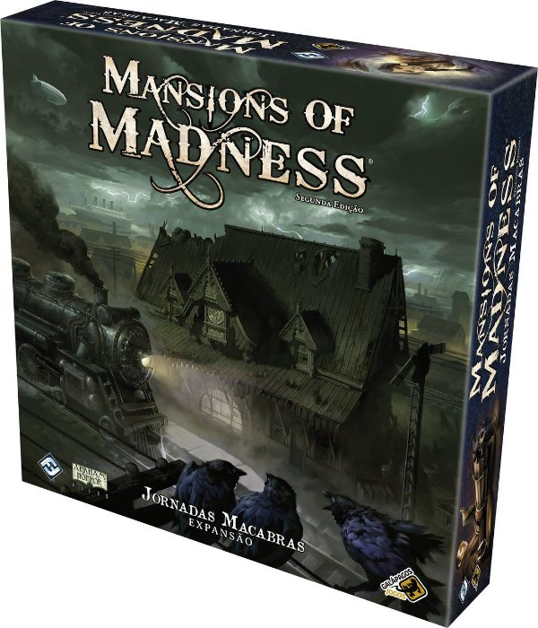 Mansion of Madness: Segunda Edição - Jornadas Macabras