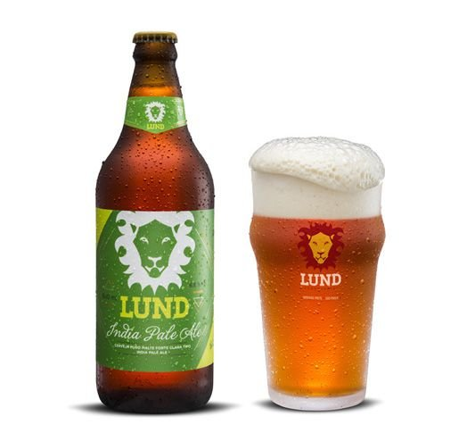 CERVEJA LUND INDIA PALE ALE 600ML