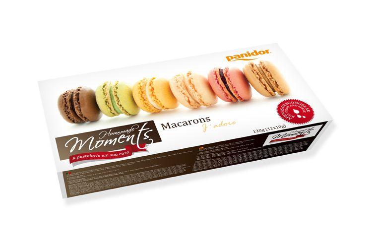 Macarons Sortidos 120 gramas (12 un.) - Panidor