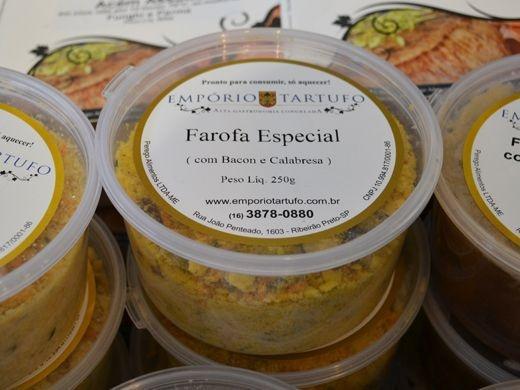 Farofa Especial com Bacon e Calabresa 250 gramas