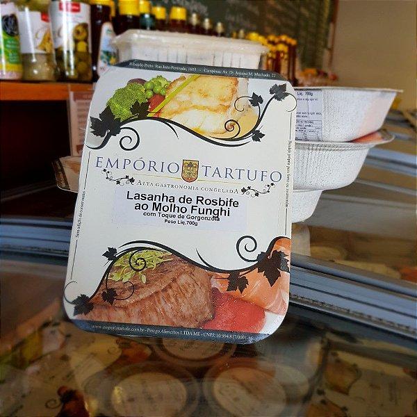 Lasanha de Rosbife com Molho Funghi com Toque de Gorgonzola 700 gramas