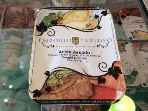 Acém Assado ao Molho de Funghi e Parma 250 gramas