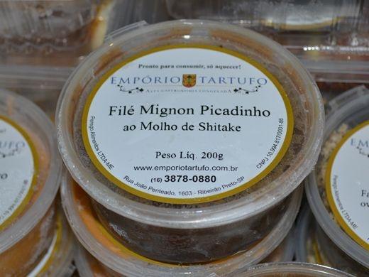 Filé Mignon Picadinho ao Molho de  Shitake 500 gramas