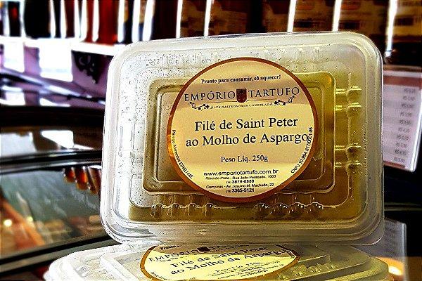 Filé de Saint Peter ao Molho de Aspargos 250 gramas