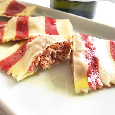 Tortelini de Abóbora e Gorgonzola 500 gramas