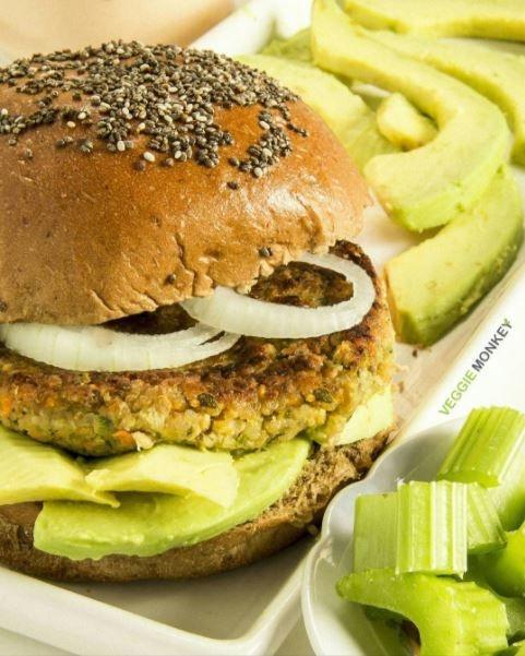Hambúrguer de Cenoura e Salsão Vegano 400 gramas (4 und)
