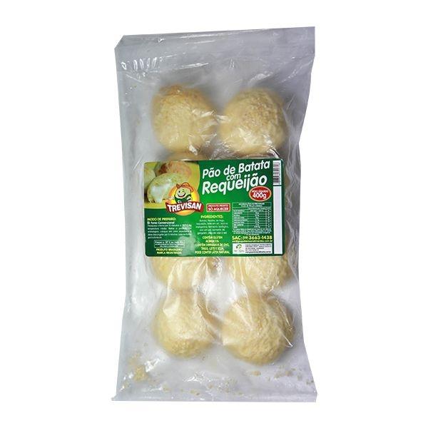 Pão de Batata de Frango com Catupiry 400 gramas (8 und)