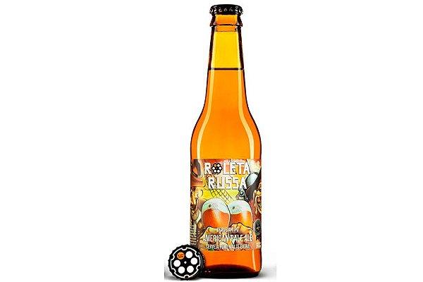 Cerveja Roleta Russa American Pale Ale long neck 355ml