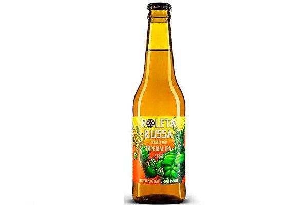 Cerveja Roleta Russa Imperial IPA long neck 355ml