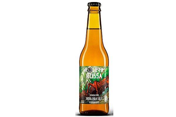 Cerveja Roleta Russa India Pale Ale IPA 355ml