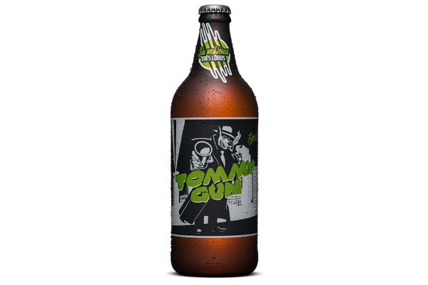 Cerveja Backer Las Mafiosas 3 Lobos Tommy Gun Double IPA 600 ml