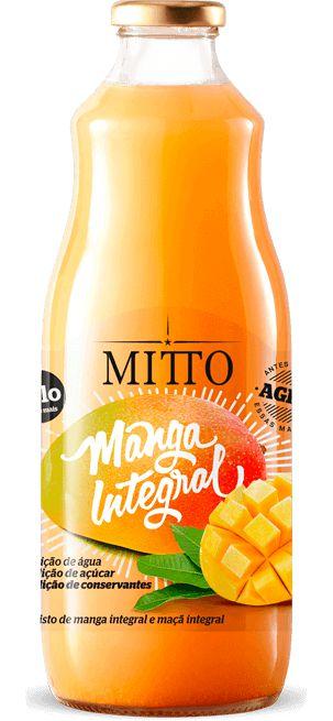 Suco Integral de Manga Mitto 1L