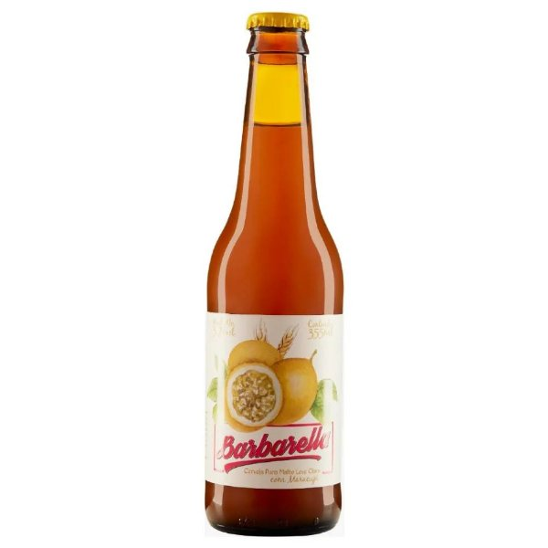 CERVEJA BARBARELLA MARACUJÁ LONG NECK 335ML