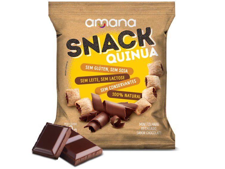 SNACK QUINUA C/CHOCOLATE 40 GRAMAS AMANA