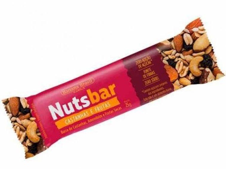 NUTS BAR CASTANHA/FRUTAS 25G