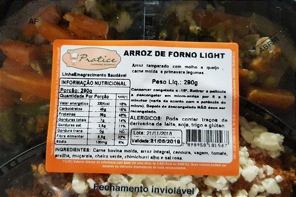 ARROZ DE FORNO LIGHT COM LEGUMES À PRIMAVERA 290 GRAMAS