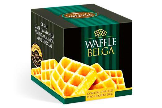 WAFFLE BELGA 4 UNID 200G ORIGINAL WAFFLE