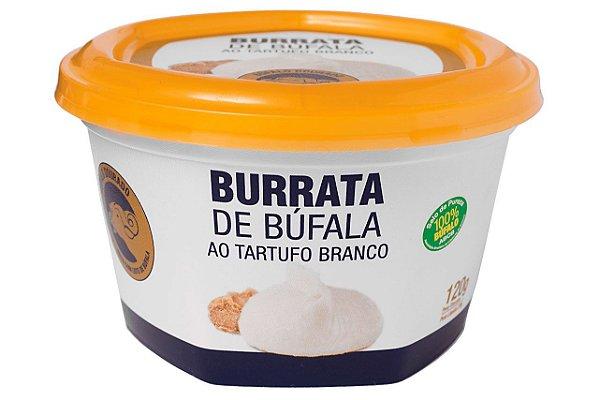 BURRATA DE BUFALA TRUFADA BUFALO DOURADO 120G