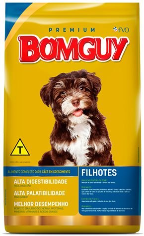Ração Bomguy Premium Filhotes 10.1kg
