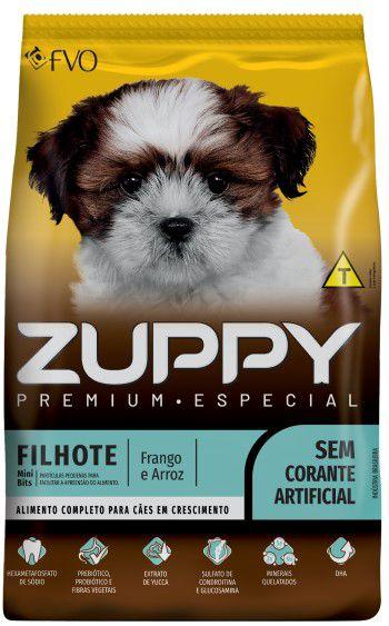 Ração Zuppy Premium Especial Filhote Pequeno Porte
