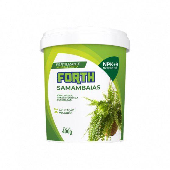 Fertilizante Forth Sabambaia 400gr