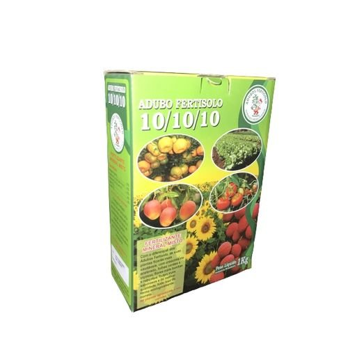 Fertilizante Adubo Npk 10 10 10 Para Plantas Fertisolo 1KG