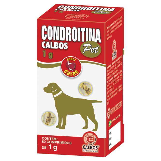 Condroitina Pet Calbos 60 Cápsulas 1G