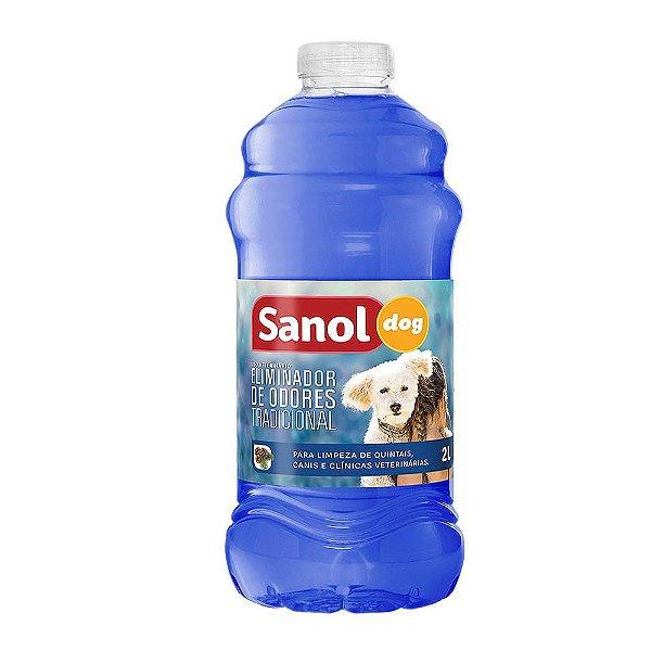 Eliminador de Odores Sanol Dog Original