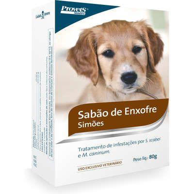 Sabão Provets de Enxofre Simões - 80 g