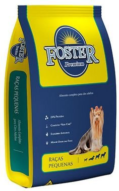 Ração Foster Premium Raças Pequenas