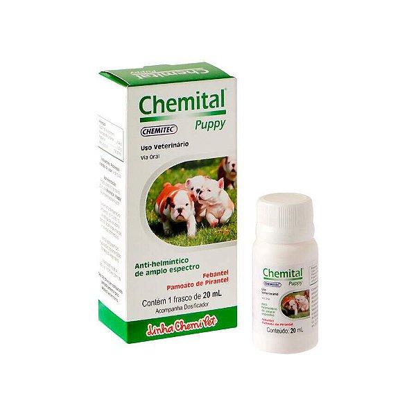 Vermífugo Chemital para Cães Puppy 20ml
