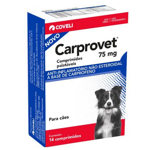 Anti-inflamatório Coveli Carprovet para Cães