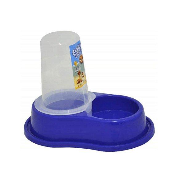 Bebedouro Plast Anti-formiga Autom. C/ Dosador Azul - P - Furacão