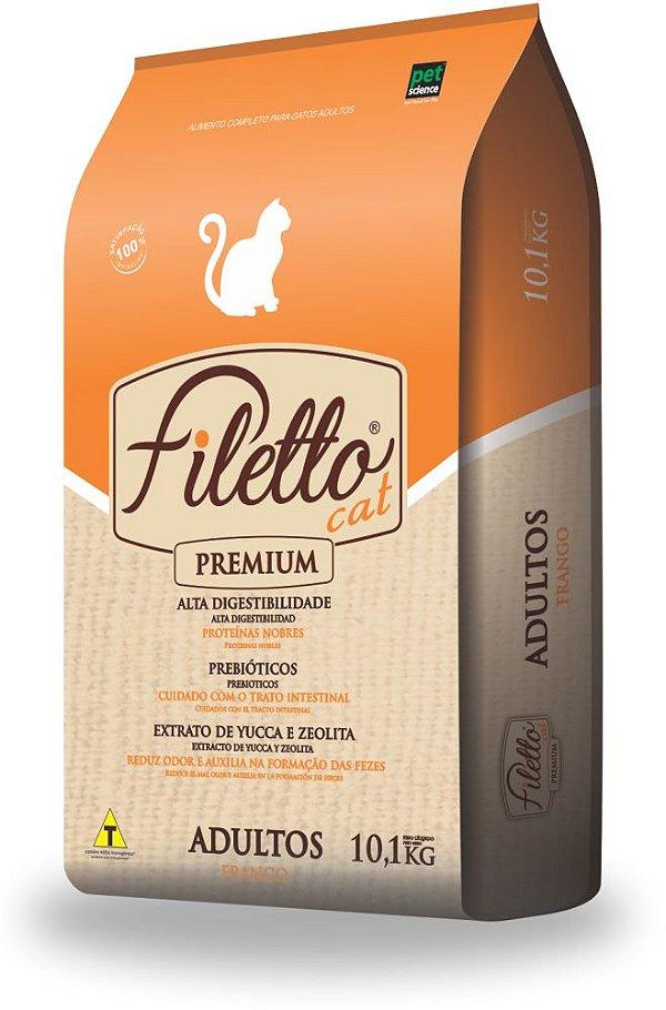 Ração Filetto Cat Adulto Frango 10.1kg