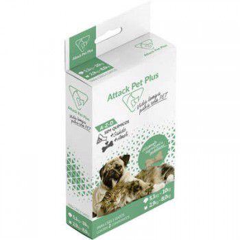 Attack Cães e Gatos 5,1 A 10 Kg suplemento ( Antipulgas E Carrapatos)