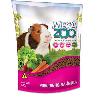 Ração Megazoo para Porquinho da Índia Adulto 500GR