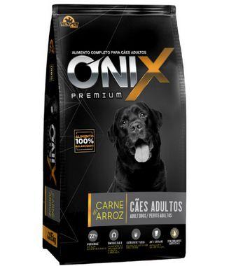 Ração Onix Adulto Premium Carne e Arroz