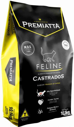 Ração Premiatta Feline Premium Gatos Castrados - 10,1 Kg